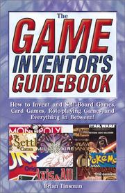 Cover of: The Game Inventor's Guidebook