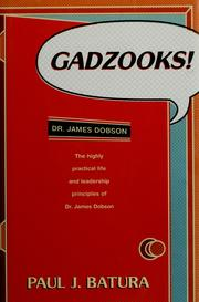 Cover of: Gadzooks! | Paul J. Batura