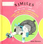 Cover of: Similes | Joan Hanson