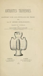 Cover of: Antiquités Troyennes