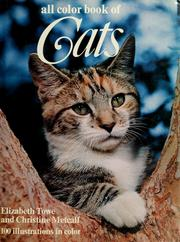Cover of: All color book of cats by Elizabeth Towe