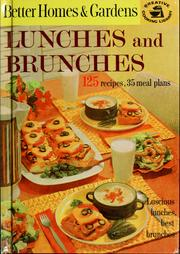 Cover of: Lunches and brunches |