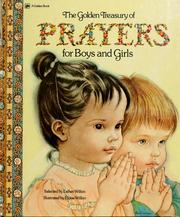 Cover of: The Golden Treasury of prayers for boys and girls |