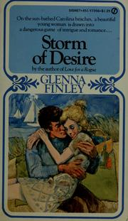 Cover of: Storm of desire by Glenna Finley