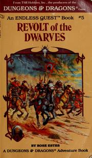 Cover of: Revolt of the dwarves | Rose Estes