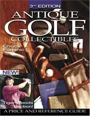 Cover of: Antique golf collectibles