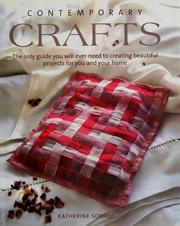 Cover of: Contemporary crafts by Katherine Sorrell