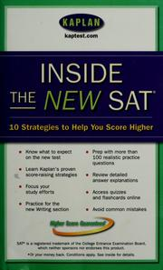Cover of: Inside the new SAT by Kaplan, Inc
