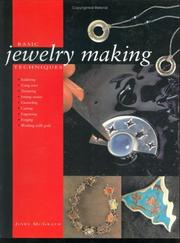 Cover of: Basic Jewelry Making Techniques | Jinks McGrath