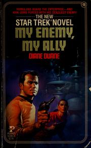 Cover of: My Enemy, My Ally (Star Trek: The Original Series, No. 18) | Diane Duane