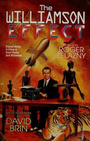 Cover of: The Williamson effect by Roger Zelazny