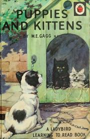 Cover of: Puppies and kittens by M. E. Gagg