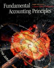 Cover of: Fundamental accounting principles by Kermit D. Larson