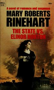 Cover of: The state vs. Elinor Norton | Mary Roberts Rinehart