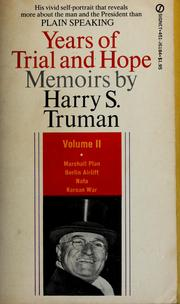 Cover of: Memoirs by Harry S. Truman