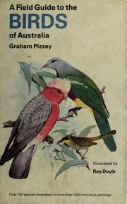 Cover of: A field guide to the birds of Australia | Graham Pizzey
