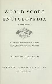 Cover of: World scope encyclopedia by