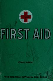 Cover of: American Red Cross first aid textbook | American National Red Cross.