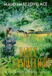 Cover of: Early Candlelight