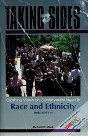 Cover of: Taking sides | Richard C. Monk