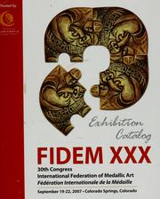 Cover of: FIDEM XXX by Michael Meszaros