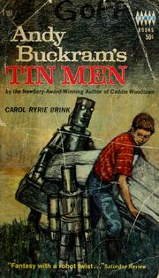 Cover of: Andy Buckram's tin men | Carol Ryrie Brink
