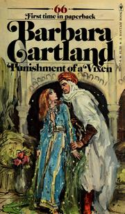 Cover of: Punishment of a Vixen by Barbara Cartland