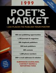 Cover of: 1999 poet's market by Chantelle Bentley