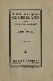 Cover of: A knight of the Cumberland |