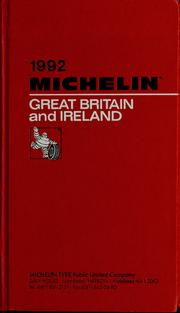 Cover of: Great Britain and Ireland | Manufacture française des pneumatiques Michelin