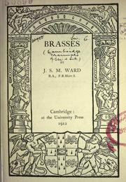 Cover of: Brasses | J     S     M. Ward