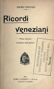 Ricordi veneziani