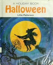 Cover of: A holiday book : Halloween by Lillie Patterson