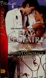 Cover of: Dante's contract marriage | Day Leclaire
