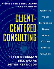 Cover of: Client-centred consulting