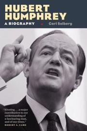 Cover of: Hubert Humphrey: a biography