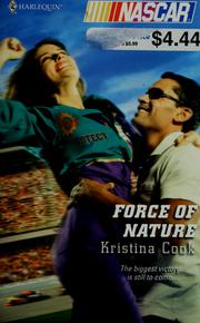Cover of: Force of nature | Kristina Cook