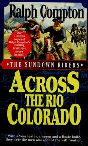 Cover of: Across the Río Colorado by Ralph Compton