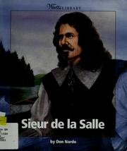 Cover of: Sieur de la Salle | Don Nardo