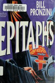 Cover of: Epitaphs: A Nameless Detective Mystery