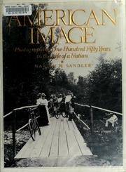 Cover of: American image | Martin W. Sandler