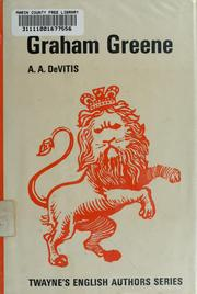 Cover of: Graham Greene | A.A. DeVITIS