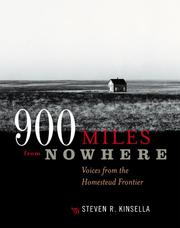 Cover of: 900 Miles from Nowhere