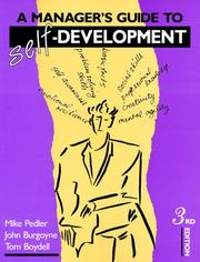 Cover of: A manager's guide to self-development