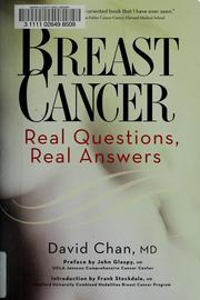 Cover of: Breast cancer | David Chan