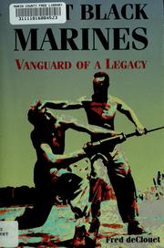 Cover of: First Black Marines by Fred DeClouet