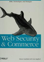Cover of: Web security & commerce | Simson Garfinkel