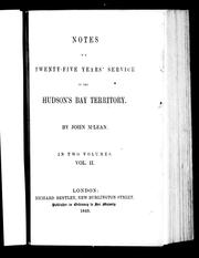 Cover of: Notes of a twenty-five years