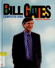Cover of: Bill Gates (Gateway Biographies) | Josepha Sherman