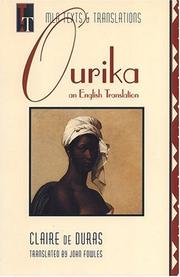 Cover of: Ourika